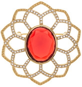 Carolee Large Openwork Flower Pin