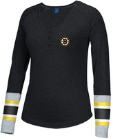 Reebok Women's Boston Bruins Jersey Henley