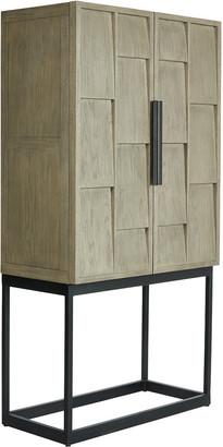 OKA Candelaria Bar Cabinet - Slate