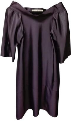 Marni Purple Viscose Dresses