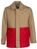 Kitsune Maison Quilted Panel Bicolour Jacket