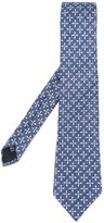 Fashion Clinic Timeless - star print tie - men - Silk - One Size