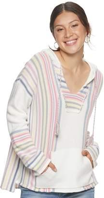 American Rag Juniors' Multicolor Baja Pullover Hoodie