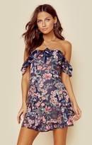 For love and lemons flora off shoulder mini dress