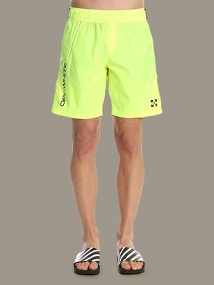 Off-White Bermuda Shorts Men Off White