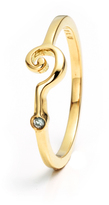 Lulu Frost Code 18Kt Question Mark Ring