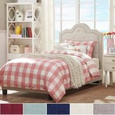 Inspire Q IQ KIDS Harper Tufted High-arching Linen Upholstered TWIN-size Upholstered Bed