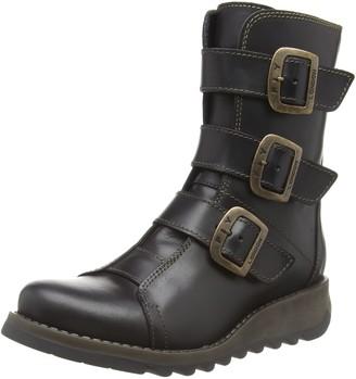 Fly London Women's SCOP110FLY Biker Boots (Black 000) 4 (37 EU)