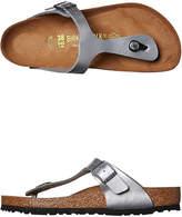 Birkenstock Womens Gizeh Sandal Silver
