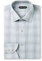 Tom Ford - Checked Cotton Shirt