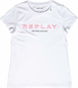Replay Girl's Sg7400.063.20994 T-Shirt
