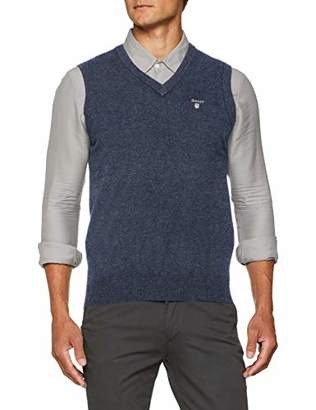 Gant Men's Superfine Lambswool Slipover Jumper