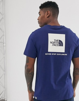 The North Face Red Box t-shirt in navy-Blue