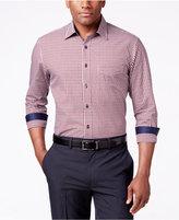 Tasso Elba Men's Check Pattern Long-Sleeve Shirt, Classic Fit