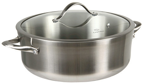 Calphalon Contemporary Stainless Steel 8 Qt Dutch Oven