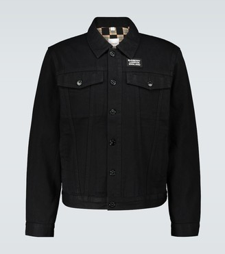 Burberry Satchwell slim-fit denim jacket