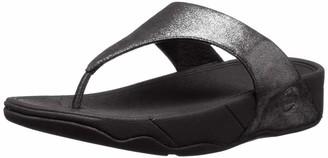 FitFlop Women's Lulu Shimmersuede Open Toe Sandals