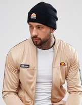 Ellesse Beanie With Small Logo In Black
