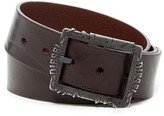 Diesel Bi Frame Genuine Leather Belt
