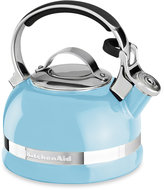 KitchenAid 2-Quart Porcelain Enamel Tea Kettles with Stainless Steel Handle