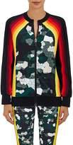 NO KA 'OI No Ka'Oi Women's Nalani Camouflage-Striped Microfiber Jacket