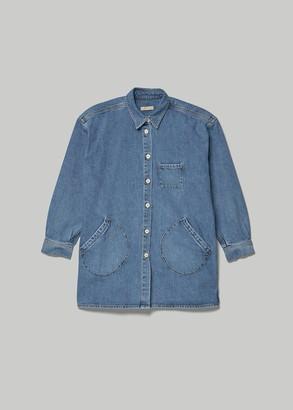 Jesse Kamm Women's Okuda Jacket in Cowboy Blue Size XS/S