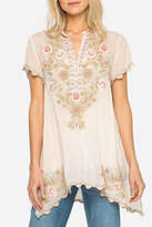 Johnny Was Blush Talan Tunic