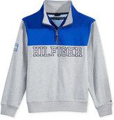 Tommy Hilfiger Colorblocked Half-Zip Sweater, Little Boys (2-7)
