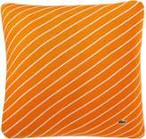 Lacoste 15848598 Skiff Stripe Knit Pillow