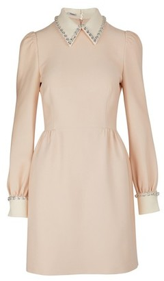 Miu Miu Jewel-neck dress