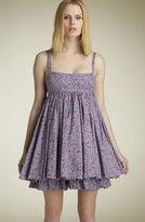 MARC BY MARC JACOBS 'Primrose Garden' Poplin Babydoll Dress