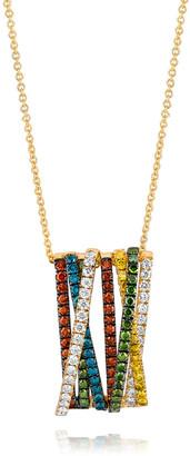 LeVian Le Vian 14K Honey Gold 1.33 Ct. Tw. Diamond Pendant Necklace