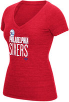adidas Women's Philadelphia 76ers Stretched Type T-Shirt