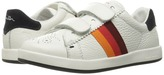 Paul Smith Leather Sneaker with Straps Boys Shoes