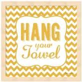 "Metaverse Art ""Hang Your Towel"" Framed Wall Art"