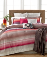 Pem America CLOSEOUT! Reeves Sunset Stripe 10-Pc. Queen Comforter Set