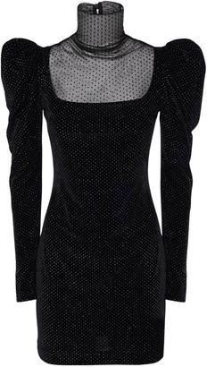 Redemption Glittered Velvet Mini Dress