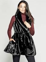 GUESS Reversible Faux-Fur Vest