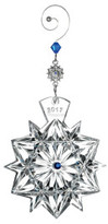 Waterford Crystal Snowflake Wishes 2017 Ornament
