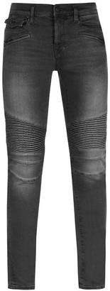 True Religion Zip Moto Jeans