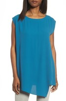 Eileen Fisher Women's Asymmetrical Silk Tunic