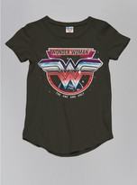 Junk Food Clothing Kids Girls Wonder Woman Tee-bkwa-s
