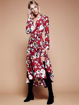Stone_Cold_Fox Nico Printed Maxi Gown by Stone Cold Fox at Free People