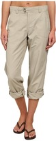 White Sierra Sierra Point Roll Up Pant