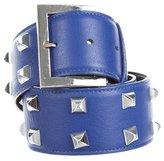 Oscar de la Renta Studded Leather Belt