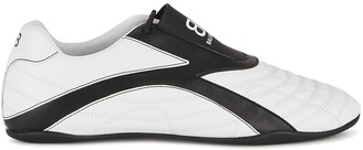 Balenciaga Zen Monochrome Faux Leather Sneakers