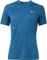 Nike Running Breather Miler Mélange Dri-FIT T-Shirt