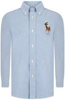 Ralph Lauren Blue Big Pony Shirt