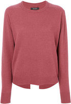 Isabel Marant back slit hem sweater - women - Cashmere - 34