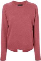 Isabel Marant back slit hem sweater